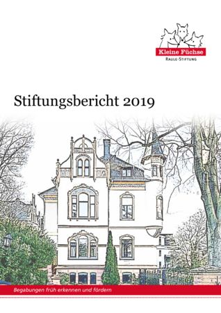 thumbnail of Stiftungsbericht 2019